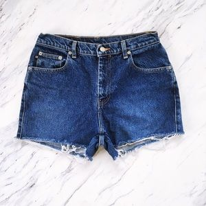 Vintage Ralph Lauren Polo Cutoff Denim Shorts